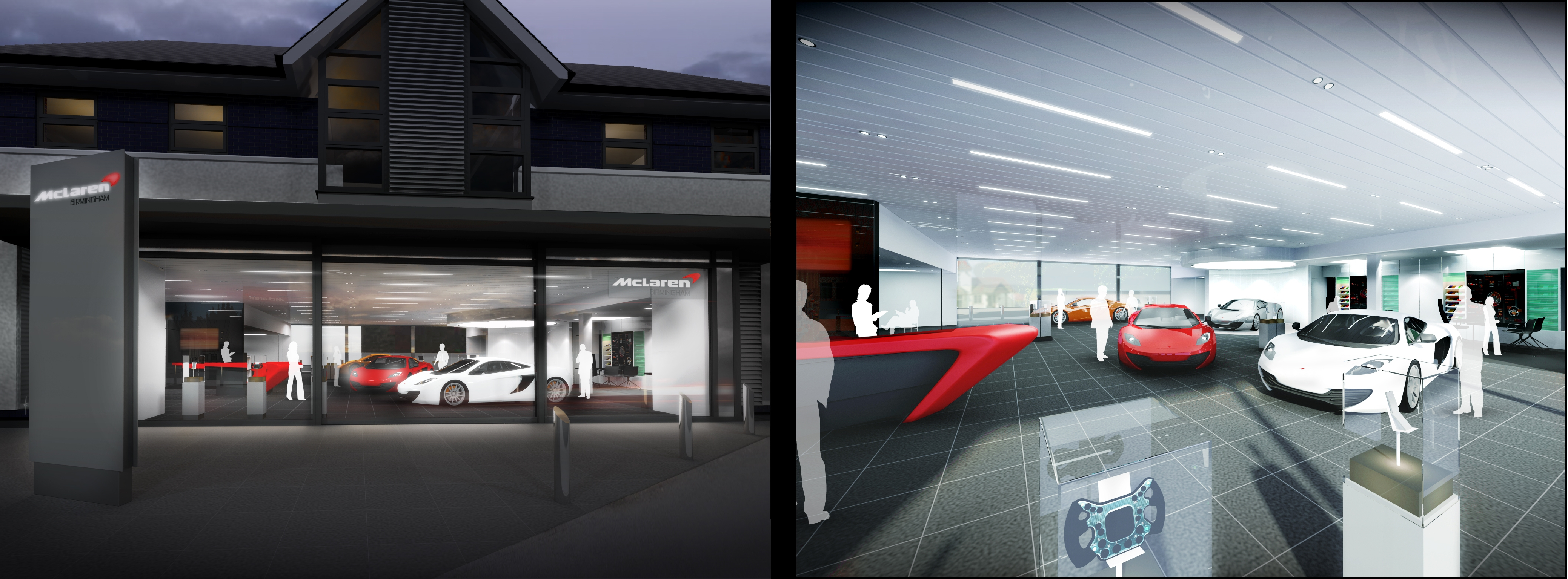 Rybrook Holdings Ltd Reveals Vision For Brand New Mclaren Birmingham Showroom